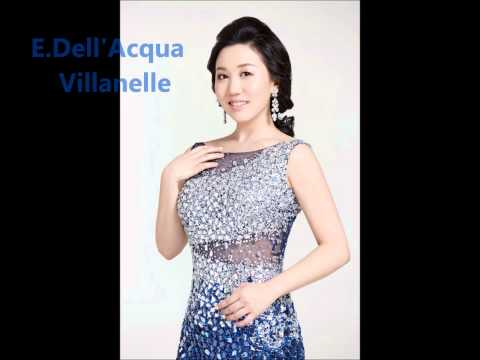 E.Dell'Acqua Villanelle - Sop. Sooyeon Lee