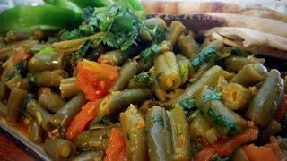Fasolia Bzit (green Beans With Tomato)