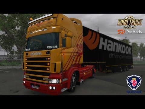 ETS2 I Scania RJL 4 Series ★ Deutschland I Lkw mit Charakter ★ #625 ProMods-Tour [Deutsch/HD]