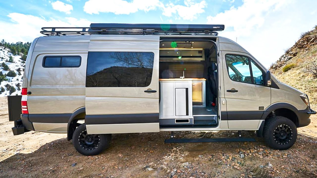 Inside Tourig's $100,000 Mercedes Sprinter Conversion ...