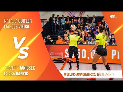 TEQBALL - Teqball World Championships 2019 - Mixed Doubles Final (Hungary vs. Brazil)
