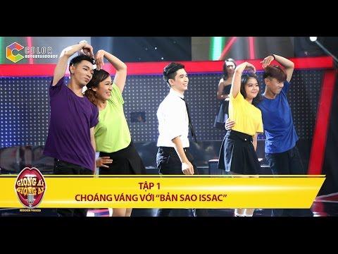 """Giọng ải giọng ai   tập 1: """"Bản sao Issac"""" khiến Ốc Thanh Vân đại chiến Trường Giang"""