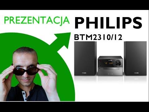 Philips BTM2310/12 - unboxing, prezentacja, Bluetooth, CD, MP3-CD, USB, FM UKF, LED, 15 W