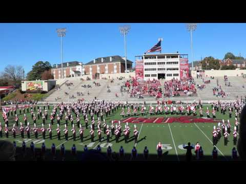 The Marching Southerners' Pregame Performance 11/14/2015