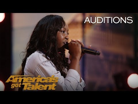 LEAK: 14-Year-Old Flau'jae Performs Emotional Rap About Gun Violence - America's Got Talent 2018