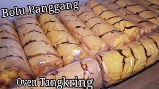 Resep Membuat BOLU GULUNG panggang  dengan Oven Tangkring.