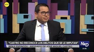 """Abogado de José Miguel Castro: """"Mi cliente niega que la voz de los audios sea suya"""""""