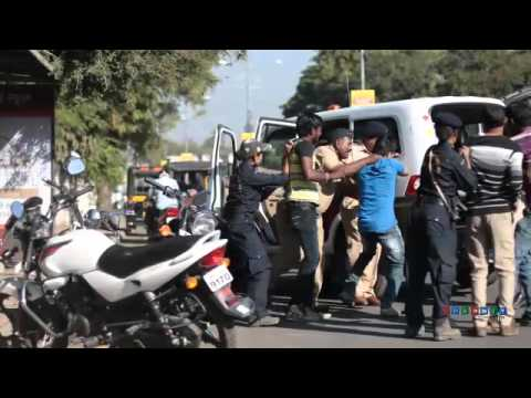 Solapur City Police (Busstop)