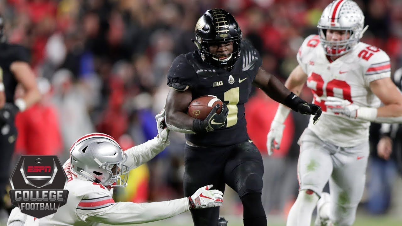 Ohio State Upset By Purdue College Football Highlights Youtube