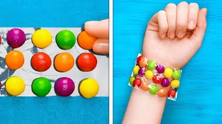 HOW TO SNEAK SNACKS ANYWHERE    Smart Food Tricks And Funny Situations
