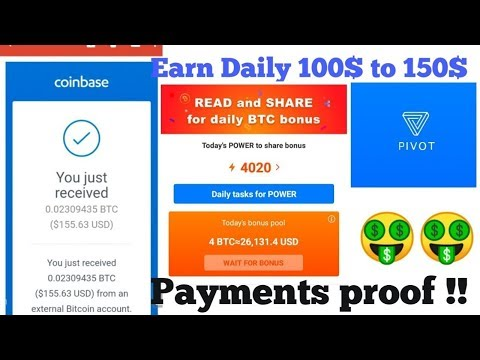 HOW T0 CONVERT PVT INTO BTC IN PIVOT APP (EARNING APP)