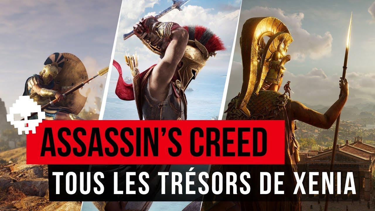 Carte Au Tresor Odyssey.Ac Odyssey Solution Des Cartes Au Tresor De Xenia