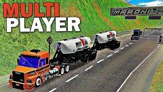 Grand Truck Simulator Multiplayer - Carga de Verduras + Conjunto SCANIA 113