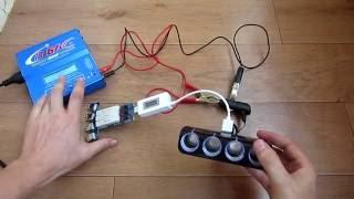 Обзор разветвителя прикуривателя с четырьмя гнездами и USB портом