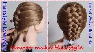 French Braid Tutorial For Beginners With Weave 免费在线视频最佳