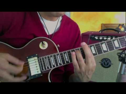 Come Together guitar sound - The Beatles - Guitar Lesson