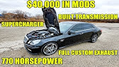 SUPER CHEAP Auction Find! RennTech E63 AMG Hiding $40,000 In Mods Including A Weistec SuperCharger!