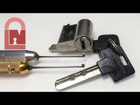 Взлом отмычками Mul-T-Lock Classic  (408) Mul-T-Lock Classic: It's more scared of you than you are of it! ()