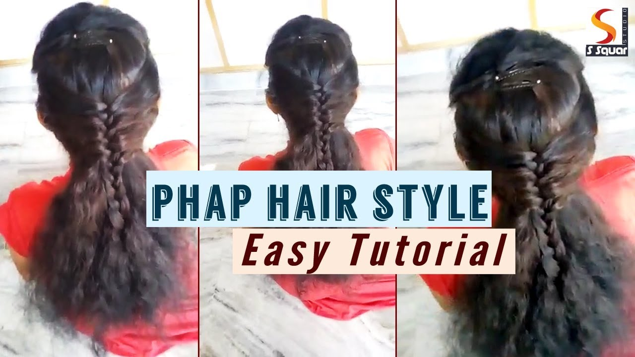 How To Phap Hairstyle Easy Tutorials Simple Hairstyle For
