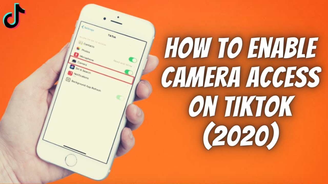How To Enable Camera Access On Tiktok On Iphone Ipad 2020 Allow C Iphone Camera Ipad