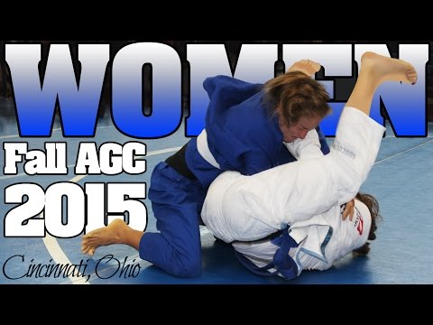 AGC Cincinnati Brazilian Jiu Jitsu womens tournament Fall 2015