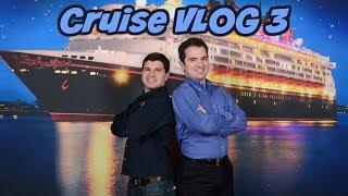 The Captain's Reception at Sea 🌅 | Disney Wonder | Disney Cruise VLOG 3