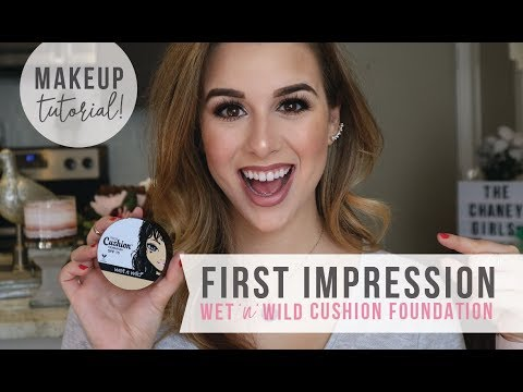 WET 'n' WILD Foundation First Impressions | Makeup Tutorial