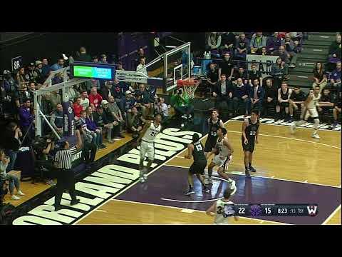 Highlights: Men's Basketball vs. Portland