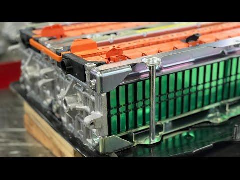 High Voltage Hybrid Systems - 2013-2016 Ford Fusion Hybrid Li-Ion Battery