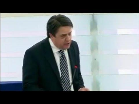 Nick Griffin blasts EU over European genocide