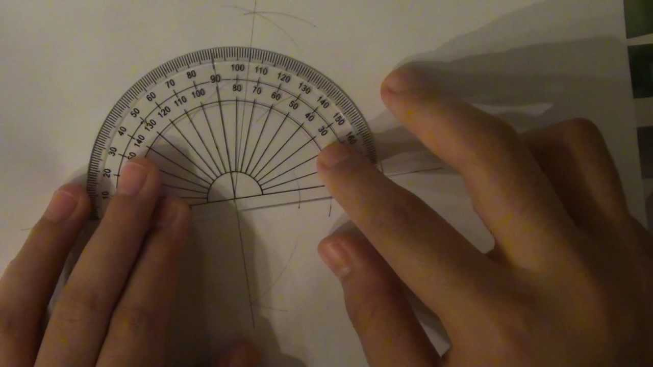 Contructing A 75 Degree Angle Youtube