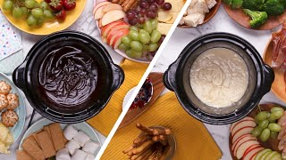 Sweet & Savory Slow Cooker Fondues