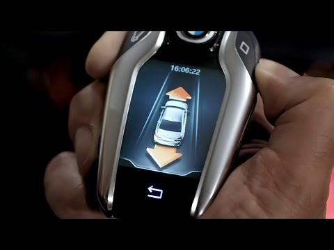 BMW 7 Series G11 Remote Control Parking