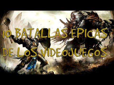 TOP 10 - Batallas Épicas de los Videojuegos