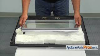 Range Inner Door Glass Assembly (Part #WB56X22160) - How To Replace