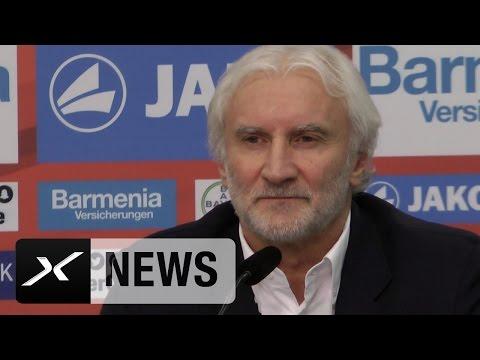 Rudi Völler: Darum musste Roger Schmidt gehen | Bayer 04 Leverkusen