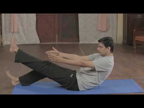 Weight Loss Yoga for Beginners 1 – For Thighs, Abs, Butts