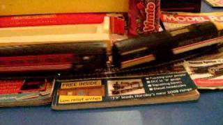 Hornby Class 43 Intercity HST (High Speed Train) Test Run (OO Gauge) Footage