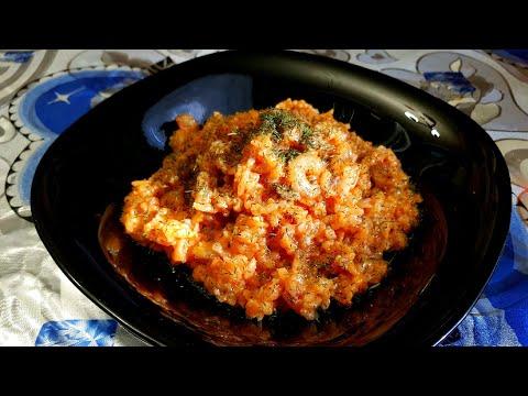 Рецепт рис с креветками в мультиварке