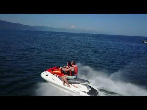 DJI Mavic Pro over Puerto Vallarta's Pirate Boat, Tsunami,  and more
