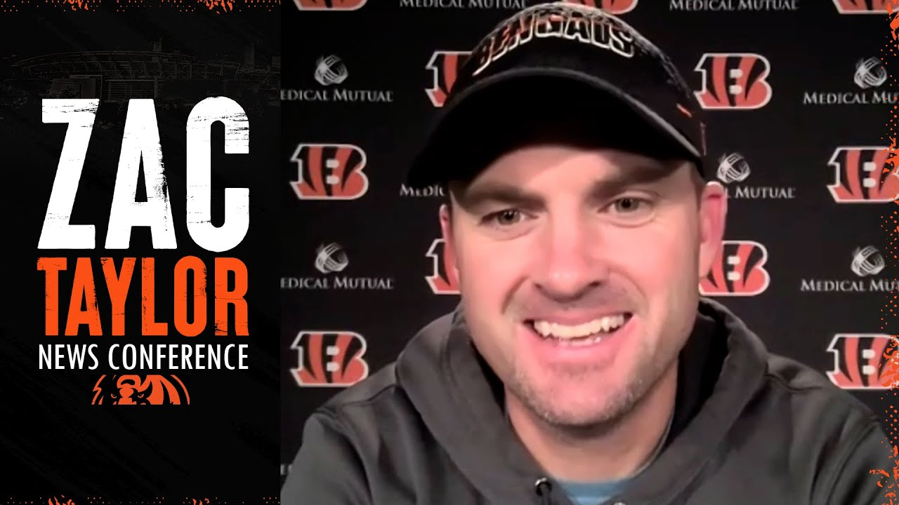 Zac Taylor Gives An Injury Update On Joe Burrow, Talks About Leadership & Moving Forward