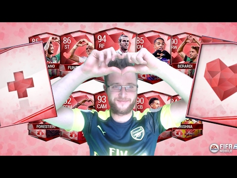 FIFA Mobile Heartbreakers Bundle and Heartbreakers Packs! FIFA Mobile Valentines Day Promo UFB Pull!
