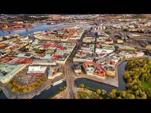 Gothenburg from above