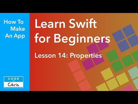Learn Swift for Beginners - Ep 14 - Properties