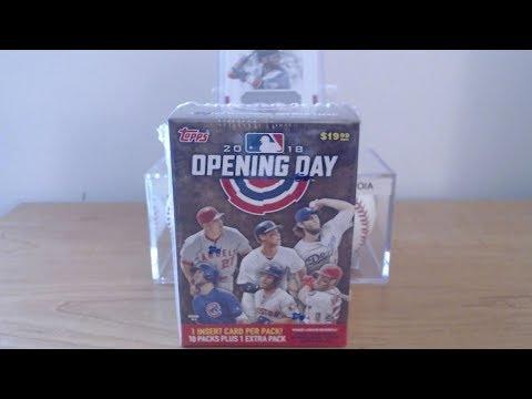 2018 Topps Opening Day Baseball Blaster Box