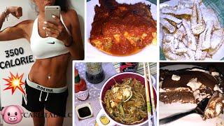 COSA MANGIO IN UN GIORNO??!! LA GRANDE ABBUFFATA!!! - What I eat in a day #8 | Carlitadolce