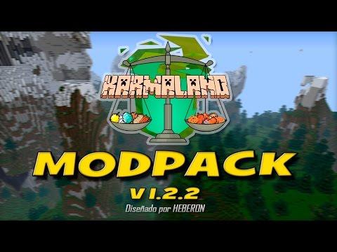 Modpack KARMALAND 1.2.2 | Minecraft Server 1.7.2 | HeberonYT