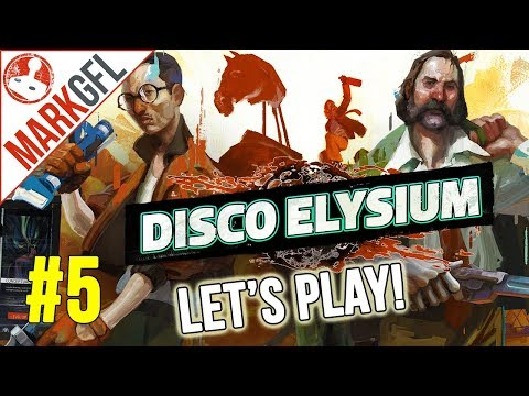 Let's Play Disco Elysium - Chaotic Detective RPG - Part 5