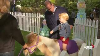 Video Princess Charlotte and Prince George have some fun with balloons and animals download MP3, 3GP, MP4, WEBM, AVI, FLV Juni 2018
