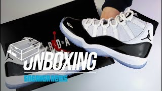 "Jordan 11 ""Concord"" 2018 Unboxing + Review [Greatest Sneaker Ever?]"